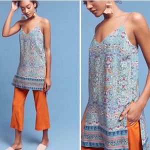 Anthropologie Maeve Meret Tunic Top | 2